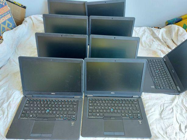 """Laptop Dell E7450 14 """" 4 GB / 128 GB  dobry stan"""