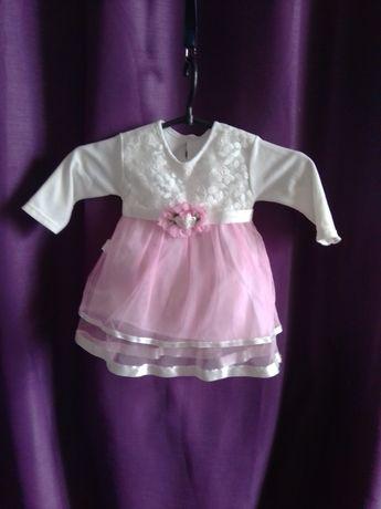 Платье для маленькой принцесски на крестины