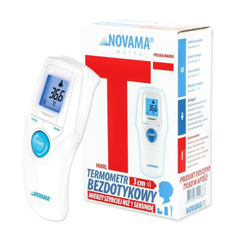 Termometr bezdotykowy Novama