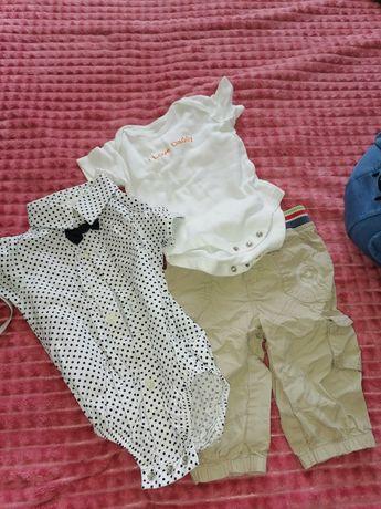 Продам вещи детские штаны и боди
