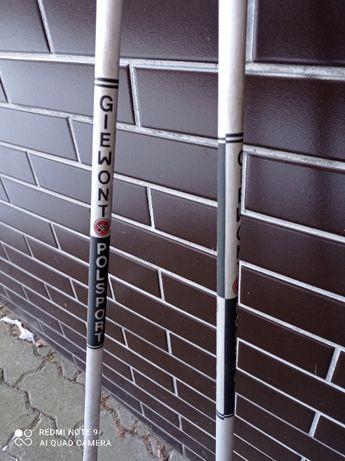 kijki narciarskie giewont długość 130 cm nowe