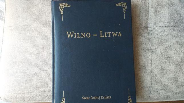 Wilno--Litwa książka złocona