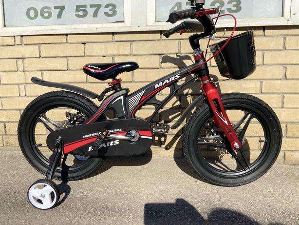 Детский двухколесный велосипед Mars 14, 16, 18 дюймов