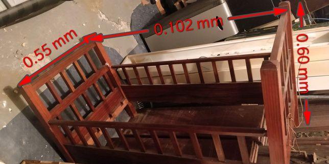 Berço/Cama bébé em madeira maciça