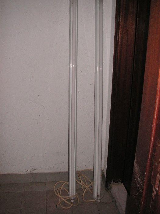 Calha com Lâmpada Fluorescente Carcavelos E Parede - imagem 1