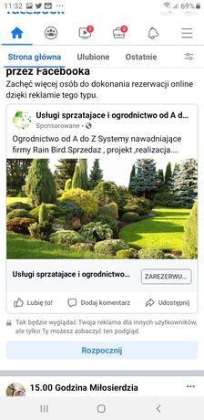 Zakladanie trawnikow,ogrodow,trawa z rolki 18pln m2
