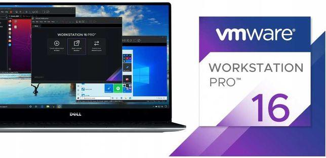 VMWARE WORKSTATION PRO 16 Dożywotnia Licencja Klucz