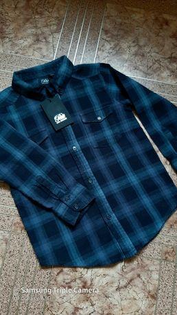 Рубашка байковая  на 4 -  5 - 6 лет , 116 см
