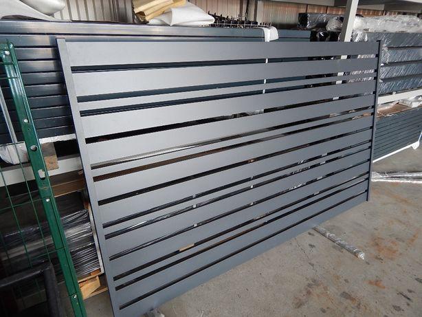 Przęsło, przęsła aluminiowe - nowoczesne ogrodzenia