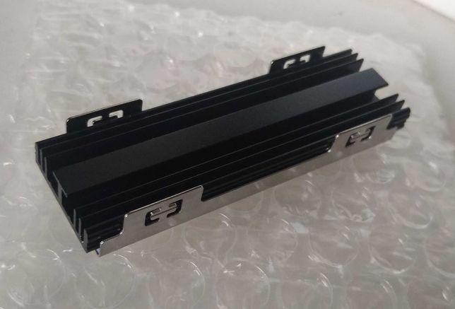 Радиатор для SSD M.2 с бэкплейтом Rocketek черный