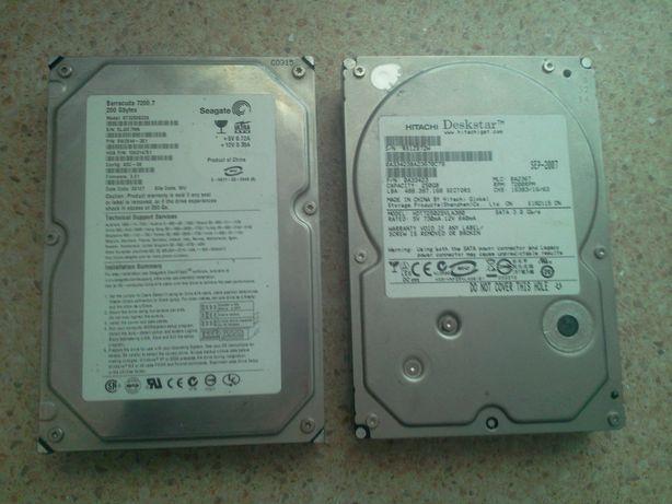 Жесткие диски 200/250