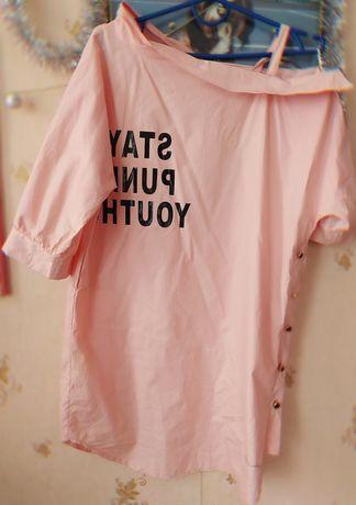 Лёгкое платье-рубашка