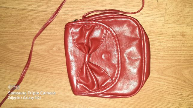 Bordowa torebka mała