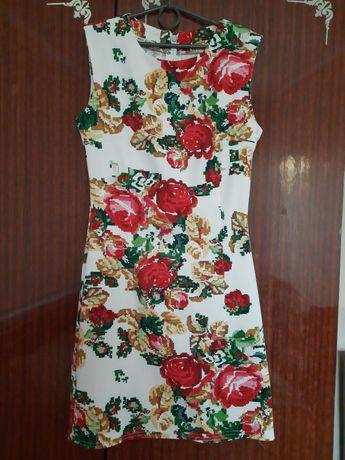 Украинское платье