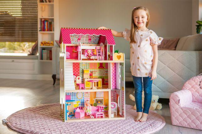 Игровой детский кукольный домик Ecotoys 4120 Roseberry + лифт