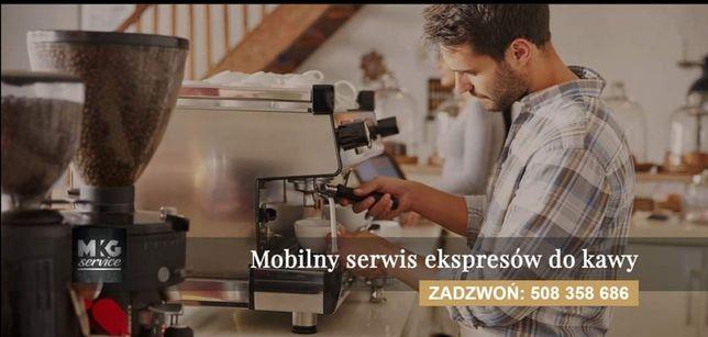 Serwis Naprawa i konserwacja ekspresów do kawy Saeco