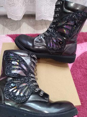 Классные ботинки/сапоги ТМ Weestep для девочки 35 р.