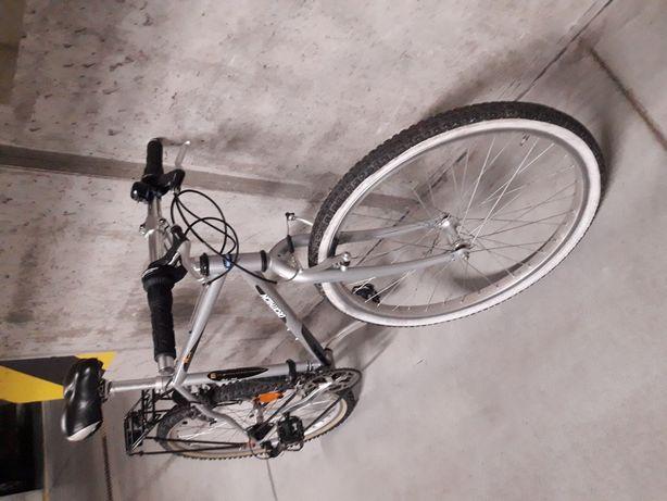 Rower decathlon seria M. Aluminium.Tanio