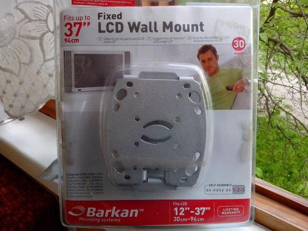 Кронштейн крепление на телевизор на стену аудио видео кабель