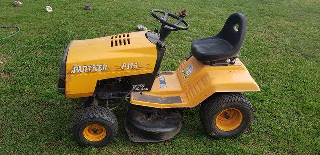 Kosiarka traktorek ogrodowy PARTNER mocny silnik B&S MANUAL dwa noże
