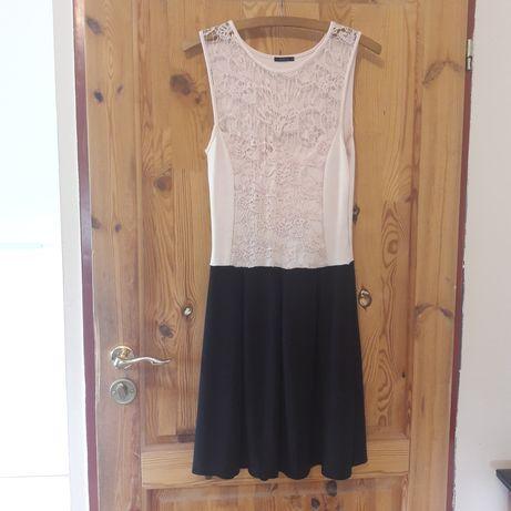 Sukienka MOHITO r. L różowa czarna