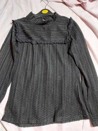 Camisola renda preta