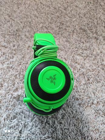 Słuchawki gamingowe Słuchawki RAZER Kraken Zielony
