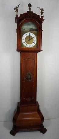 Piękny duży stojący zegar kwadransowy z mechanizmem SBS - Holandia