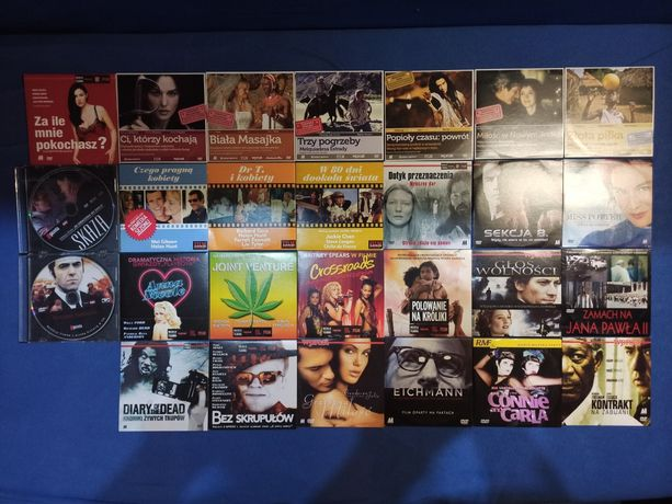 27 filmów na DVD - zestaw dla kinomana!