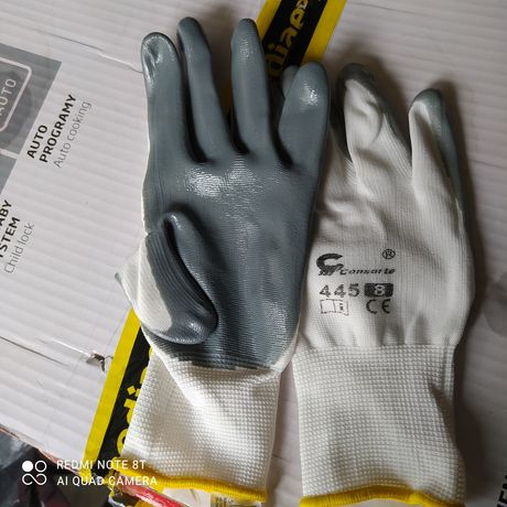 Rękawice robocze r. 8  9zl/10par