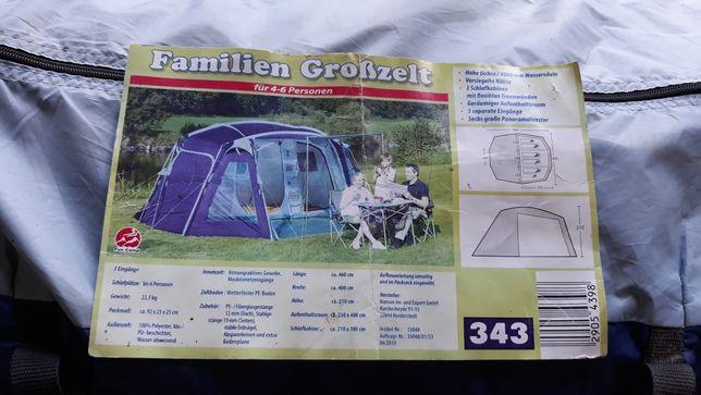 """Палатка """"families Grobzelt"""" Германія 4-6 місць"""