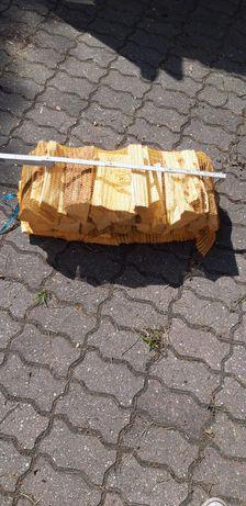 Drewno opałowe sosna łupana workowana