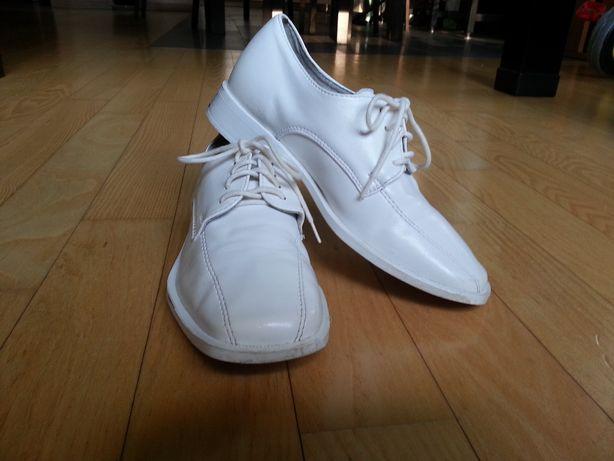 Buty pantofle eleganckie komunia rozm. 32 dla chłopca