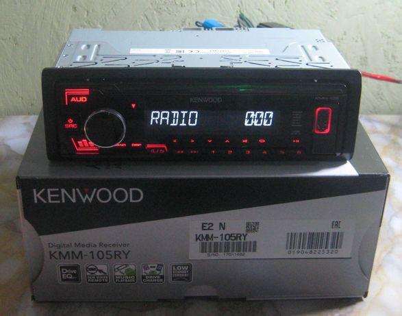 Автомагнитола Kenwood KMM-105RY (новая, магазин)