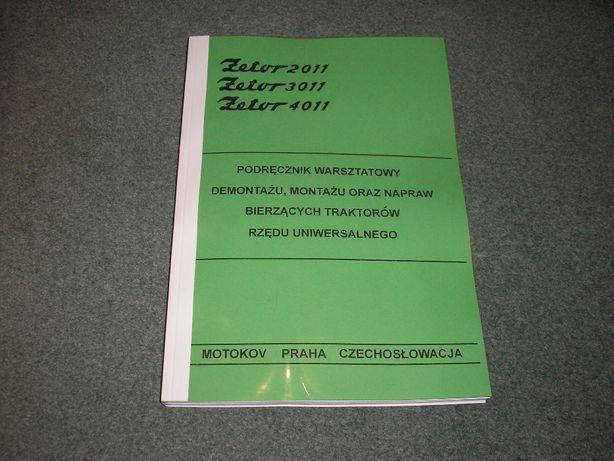 Zetor 2011, 3011, 4011 - Instrukcja napraw