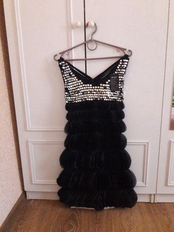Платье вечернее нарядное коктейльное для выпускного
