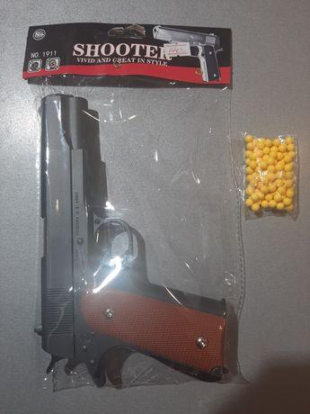 Дитячий пістолет металевий