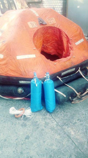 Sporty wodne tratwa ratunkowa 10 osobowa
