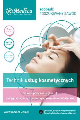 Technik usług kosmetycznych - zapisz się!