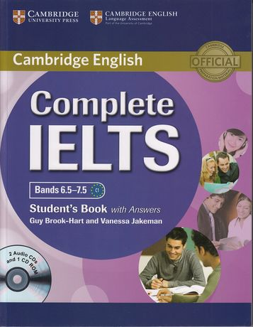 Complete IELTS Bands 6.5-7.5 Student's Book with answers