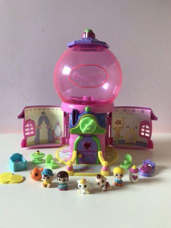 Squinkies duży zestaw Guma Balonowa 7 figurek zabawki gumowe