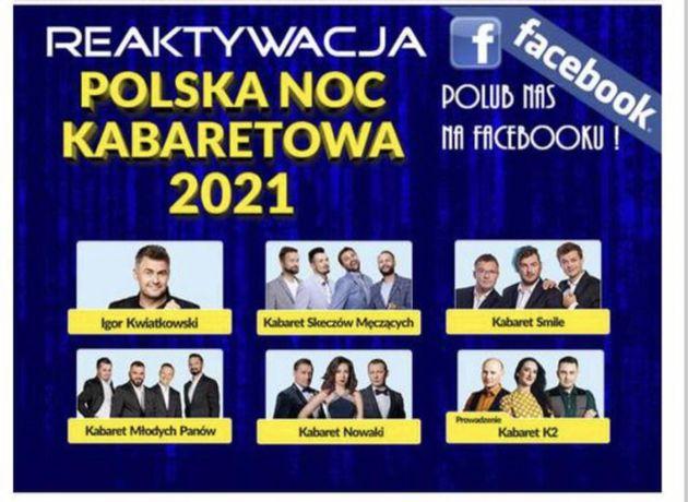 Polska Noc Kabaretowa Kielce bilety