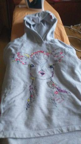 bluza dziewczęca rozmiar 122