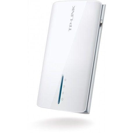 Портативный 3G/4G Wi-Fi роутер со встроенным аккумулятором TL-MR3040