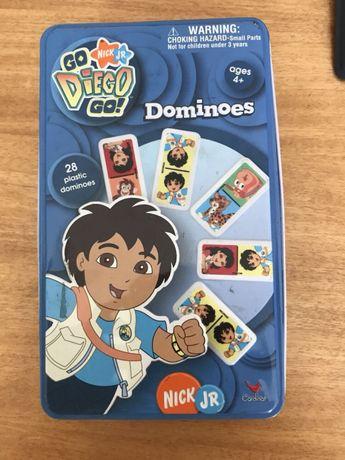 """Jogo domino do """"Go Diego Go"""""""