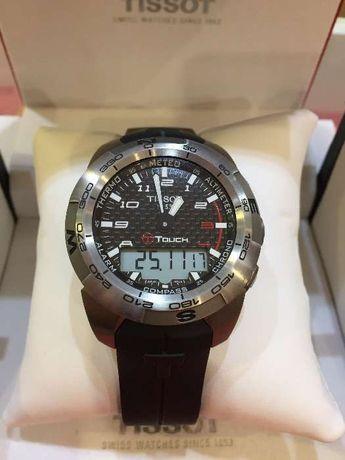 Relógio tissot touch titanio