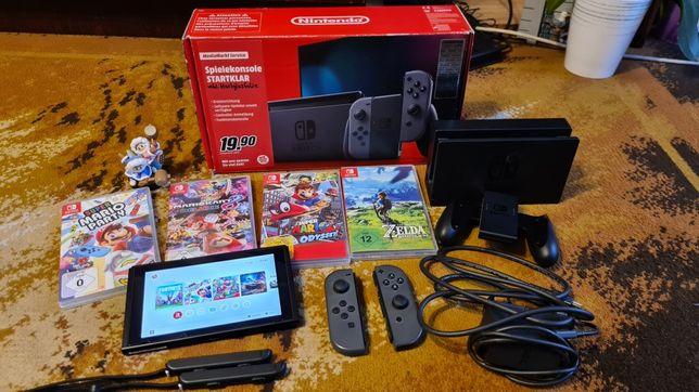 Nintendo Switch v2. Jak Nowa stan idealny + gry