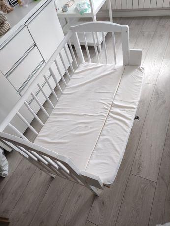 Łóżeczko dostawka łóżko kołyska 3 w 1