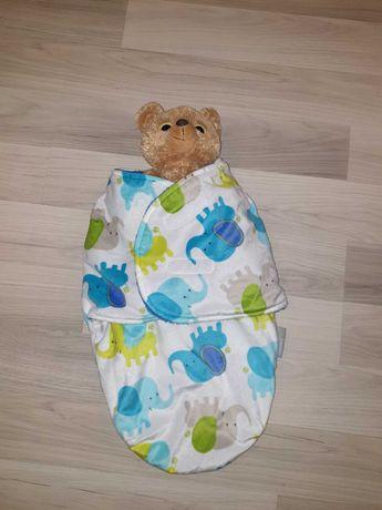 Śpiworek, rożek, kokon dla dziecka 0-6 miesięcy