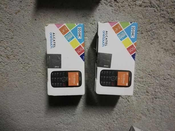 4 telefones Alcatel novos